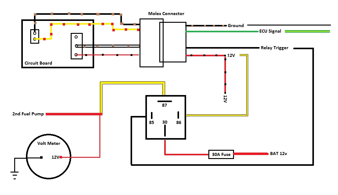 2nd FP Wiring index of fuel pump upgrade gm flex fuel sensor wiring diagram at alyssarenee.co