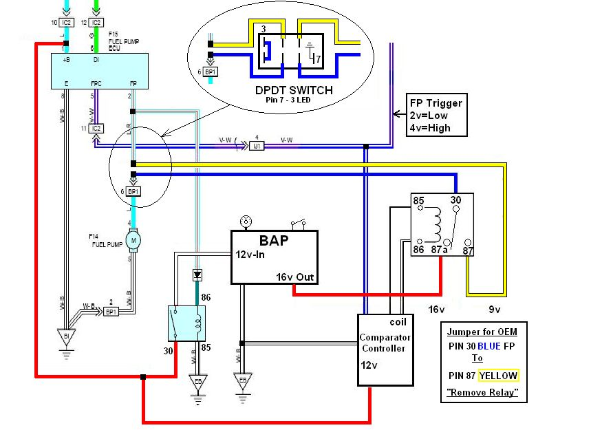 Final Reverse BAP Wiring Install W SWITCH index of fuel pump upgrade kenne bell boost a pump wiring diagram at alyssarenee.co