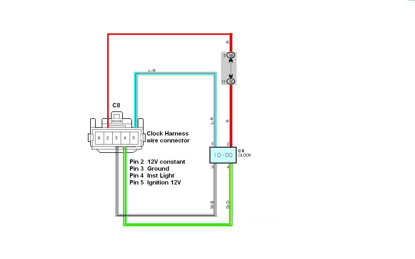 Clock Wiring boost gauge no power [archive] supraforums com prosport gauge wiring diagram at n-0.co