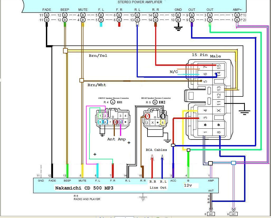 Sony Car Stereo Wiring Harness Converter Library Install Radio Diagram Integration Instructions